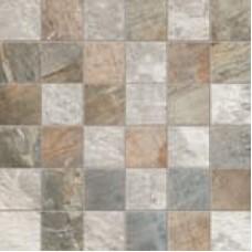 Мозаика 30*30 Fossil QUADR. MIX L.GREY/BLUE