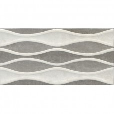 Плитка 30*60 VERONA WAVE DECOR BONE-GREY