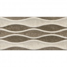 Плитка 30*60 VERONA WAVE DECOR BEIGE-BROWN