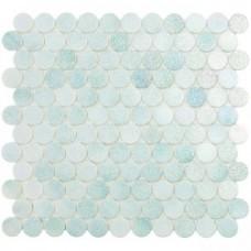 Мозаика 30,1*31,3 Crystal Mint Circle 573C